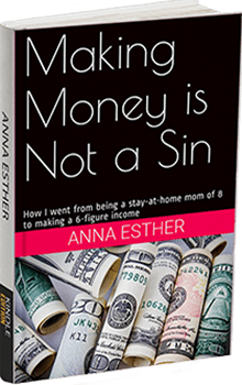 Anna Esther : Making Money is not a Sin